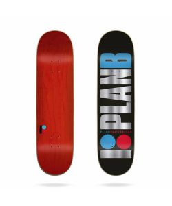Plan B Team OG Foil 8.25 Skate Deck