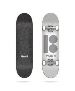 "Plan B Team Texture 7.87"" Complete Skateboard"