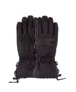 Pow August Gauntlet Glove Black Ανδρικά Γάντια