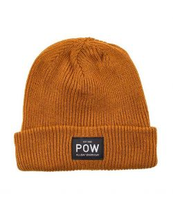 Pow Kids On The Job True Black Beanie