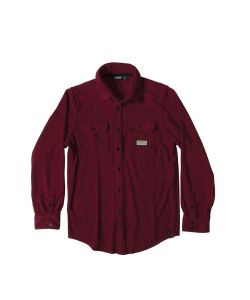 Pow Microfleece Dwr Tibetian Red Shirt