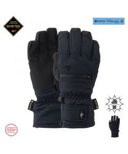 Pow W's Cascadia GTX Short Glove +WARM Black Γυναικεία Γάντια