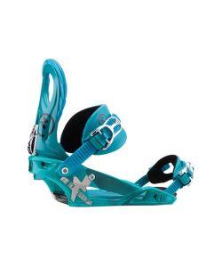 Raiden Lynx Turquoise Women's Snowboard Bindings