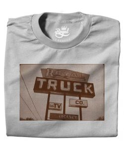 ROYAL TRUCKER SILVER T-SHIRT