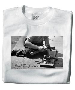 ROYAL VINTAGE WHITE T-SHIRT