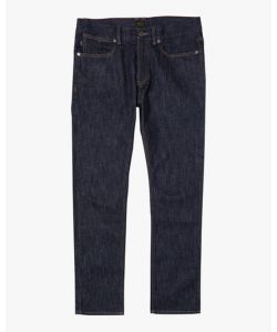 Rvca Americana Day Shift Indigo Rinse Men's Pants
