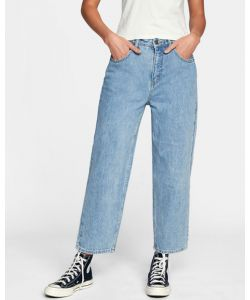 Rvca Daisy High Rise Stone Blue Γυναικείο Παντελόνι