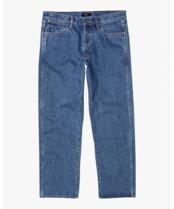 Rvca New Dawn Denim Vintage Blue Men's Pants