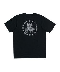 Rvca Skeleton Walk Pirate Black Ανδρικό T-Shirt