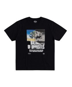Rvca Split Truth Black Ανδρικό T-Shirt