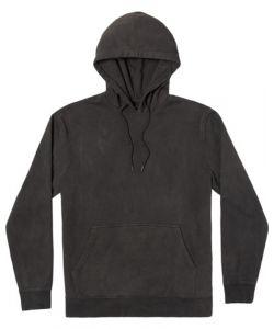 Rvca Tonally Fleece Black Ανδρικό Φούτερ Κουκούλα