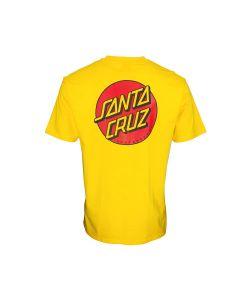Santa Cruz Classic Dot Chest Blazing Yellow Ανδρικό T-Shirt