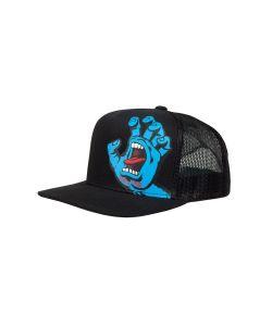Santa Cruz Screaming Hand Snapback Black Παιδικό Καπέλο