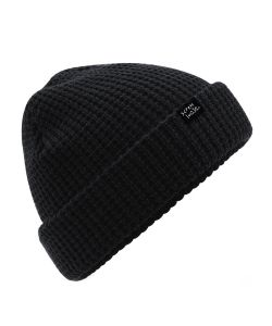 Screw Loose Knitted Beanie Black Σκουφάκι