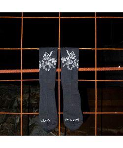 Screw Loose Reaper Black Socks