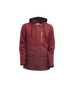 SESSIONS LITHIUM BURGUNDY SNOW JACKET