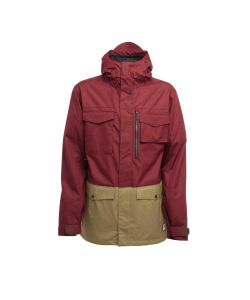 SESSIONS RANSACK BURGUNDY SNOW JACKET