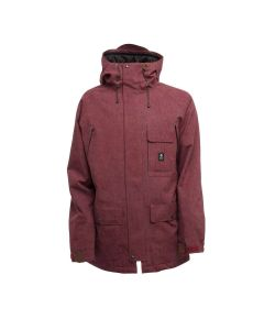 SESSIONS SUPPLY BURGUNDY SNOW JACKET
