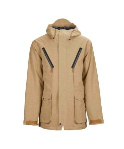 SESSIONS SUPPLY TAN SNOW JACKET