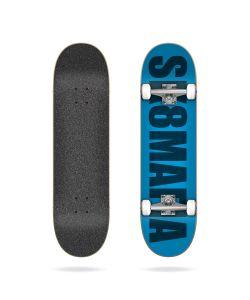 Sk8mafia Acrylic Blue 8.0'' Complete Skateboard