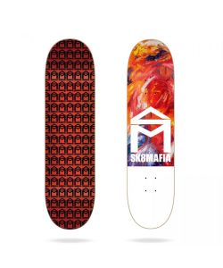 SK8MAFIA HOUSE LOGO OIL HIGH 8.25 SKATE DECK