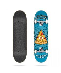 Cruzade Illuminaty Pizza 8.0 Complete Skateboard