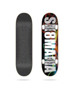 """Sk8mafia OG Logo Swirl 8.25"""" Complete Skateboard"""