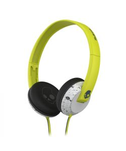 Skullcandy Uprock Hot Lime Light Gray Mic1 Headphones