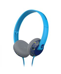 Skullcandy Uprock Navy Hot Lime Mic1 Headphones