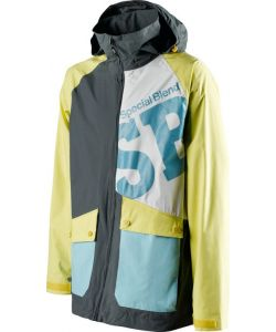 SPECIAL BLEND BEACON INSULATED GREYSKULL MELLOW YELLOW NORTHSHORE SNOW JACKET