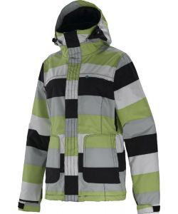 SPECIAL BLEND JOY BIG STRIPE CREME DE MINT ΓΥΝΑΙΚΕΙΟ SNOW JACKET