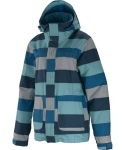 SPECIAL BLEND JOY BIG STRIPE SOUTH BEACH ΓΥΝΑΙΚΕΙΟ SNOW JACKET