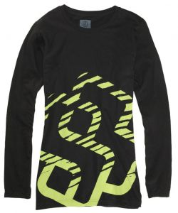 Special Blend Shred Blackout Women's Long Sleeve T-Shirt