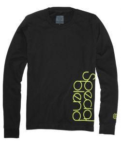 Special Blend Sideways Blackout Women's Long Sleeve T-Shirt