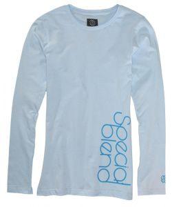 Special Blend Sideways Rock Blue Women's Long Sleeve T-Shirt