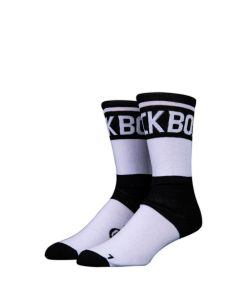 Stinky Socks  F*Ck Boss White/Black Κάλτσες