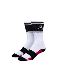 Stinky Socks Air Sock White Black Κάλτσες