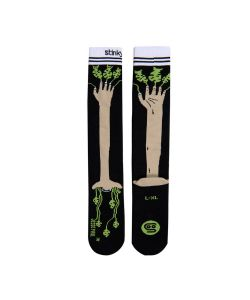 Stinky Socks Jesse Paul Collab Black/Brown Snow Socks