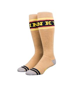 Stinky Socks Player Snowboarding Mustard Snow Socks