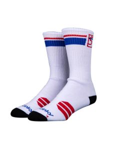 Stinky Socks Starter White Red Blue Κάλτσες