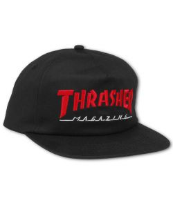 Thrasher  2 Tone Black Red Ηατ