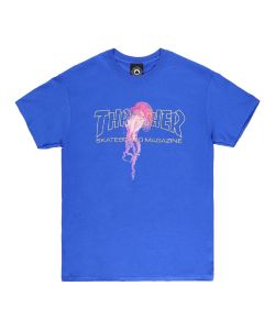 Thrasher Atlantic Drift Royal Blue Ανδρικό T-Shirt