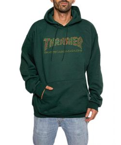 Thrasher Davis Forest Green Men's Hoodie