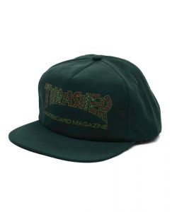 THRASHER DAVIS SNAPBACK FOREST GREEN ΚΑΠΕΛΟ