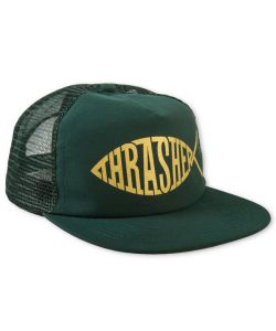 Thrasher Fish Mesh Snapback Green Ηατ