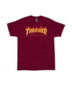 Thrasher Flame Cardinal Men's T-Shirt
