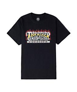 Thrasher Krak Skulls Black Men's T-Shirt