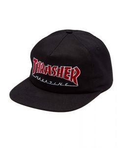 Thrasher Outlined Snapback Black Ηατ