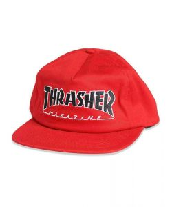 Thrasher Outlined Snapback Red Ηατ