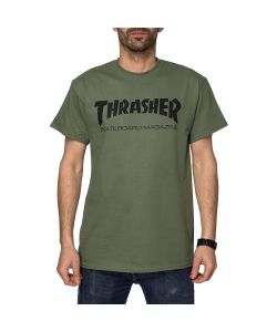 Thrasher Skate Mag Army Men's T-Shirt